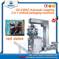 automatic electronic scale filling sealing packing machine for red dates