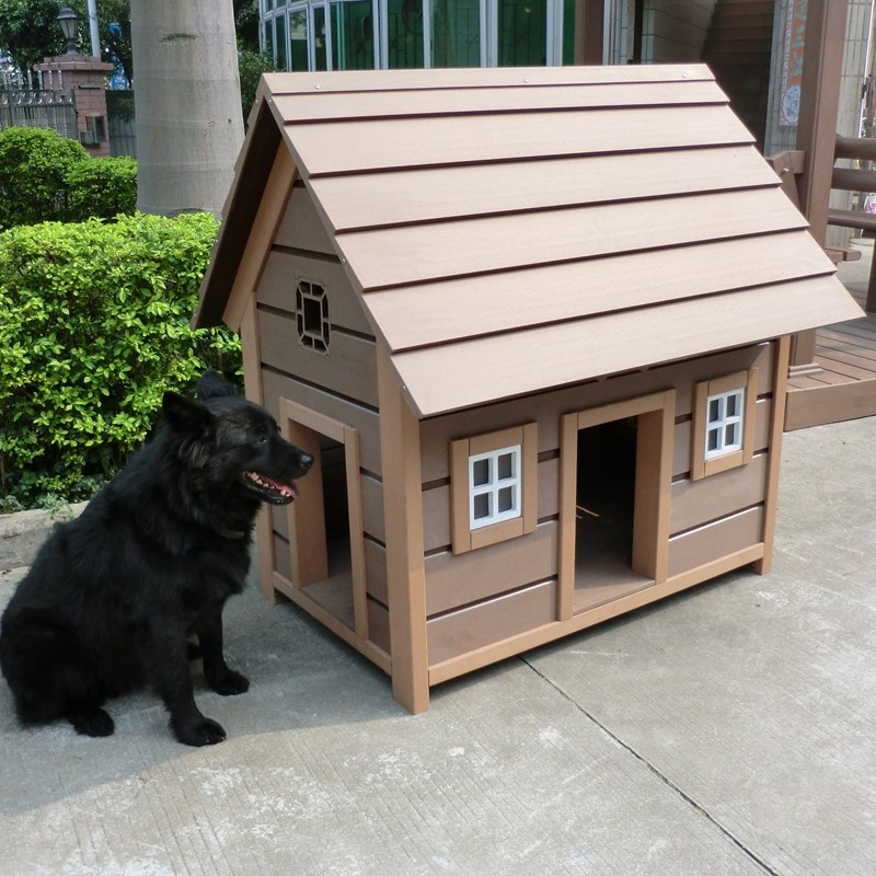 Trade assurance supplier factory price large wooden dog house