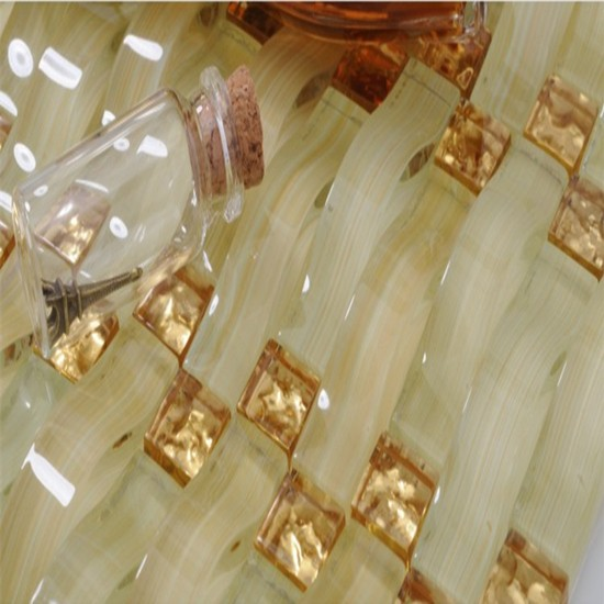 lrregular yellow gold glass mosaic tiles prices in egypt