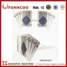FONHCOO Unique Custom Made Funny Poker Playing Card Party Sunglasses