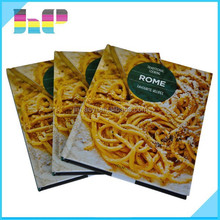 china factory high quality full color hardcover book cook book printing