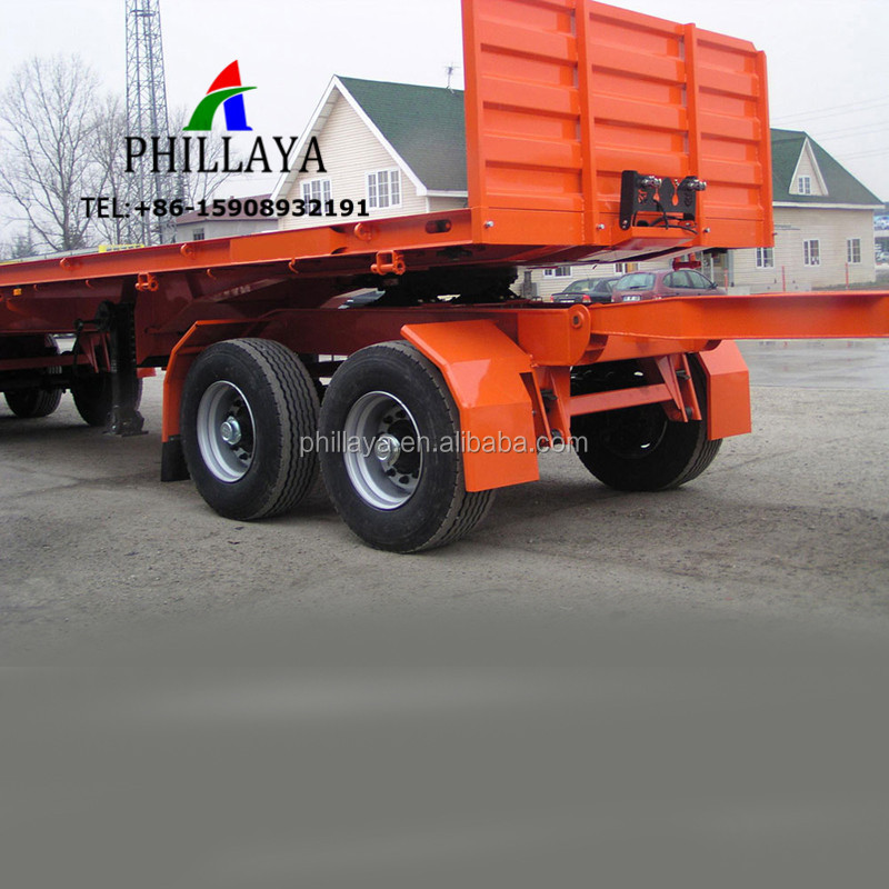2 Axles 40 Tons Small Tow Dolly Trailer With Front Drawbar,Fifth Wheel