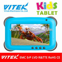 Hot selling 7inch dual core android childrens tablet