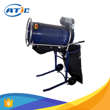 Rotary vibrating compost sifter, portable soil sifter machine with rotary screens, garden functional electric soil sifter