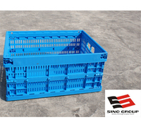 plastic crates for food and fruit