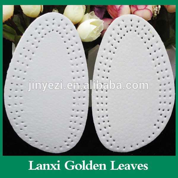 Shoe Pads Comfort Half Insoles Leather insoles silicon heel cushion sock crack