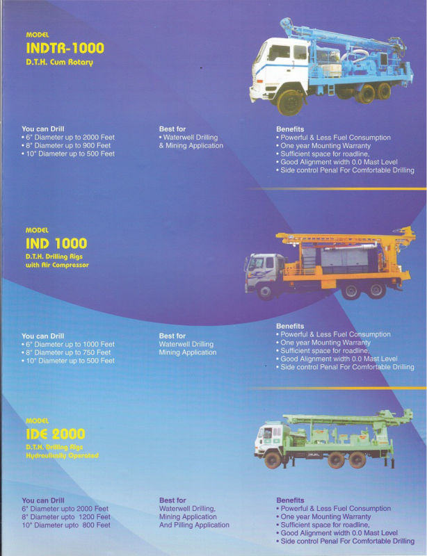Used Water Well Drilling Machines
