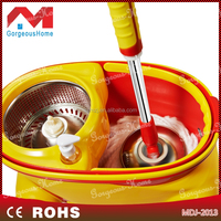 high quality hand press flat & round spin mop, new and hot sale item