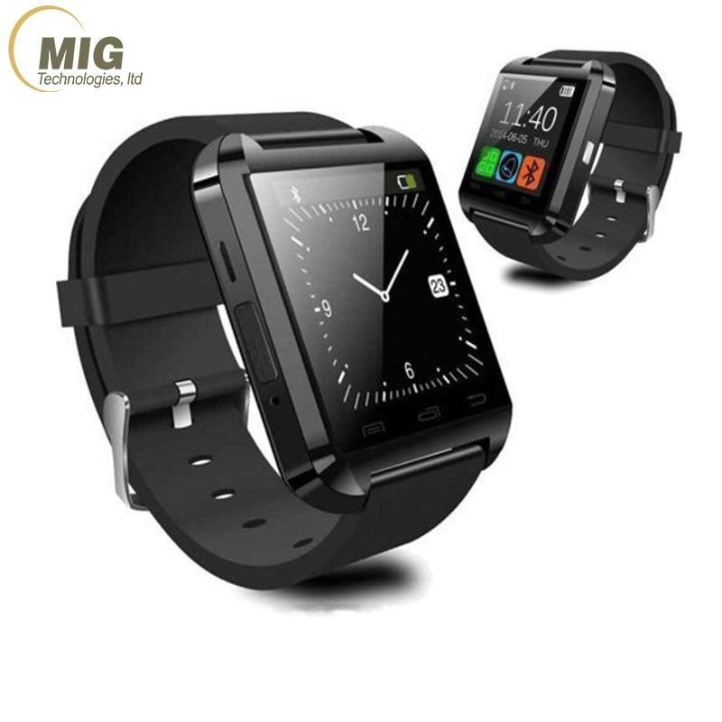 Luxury A1 Smart Watch Phone Accessories Hot Selling Products Bluetooth Android Smart Watch All Language U8 Smart Watch