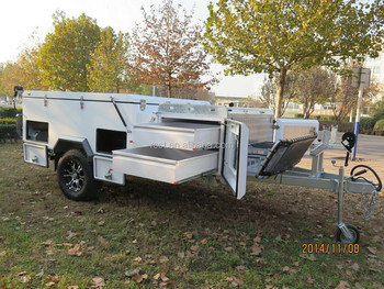 Forward Folding Hard Floor Camper Trailer RC-CPT-01SD