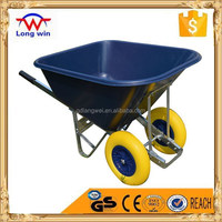 10 CU.FT big plastic tray wheelbarrow