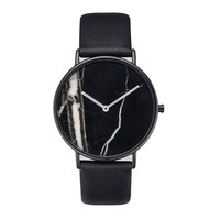 High quality your own designed watch dial custom watch face with genuine leather strap