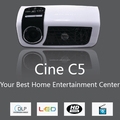 Analog TV LED Projector - Mini Home Theater Projector C5