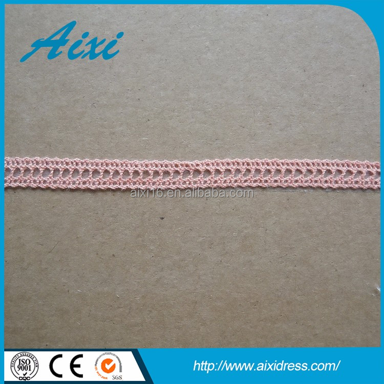 Factory wholesale lace trim embroidery lace fabric