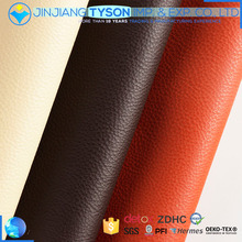 Custom made knitted artificial pvc leather fabric for making funiture