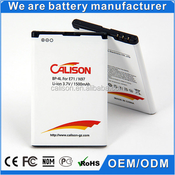 10 Years manufacturer Mobile Phone Battery E73 for Nokia