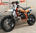Export Automatic Mini Kids 50CC Dirt Bike With CE