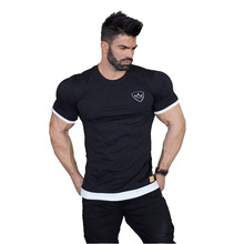 <strong>Men's</strong> Sports Slim Fitness/Running Training Short T-<strong>shirt</strong> Fitness