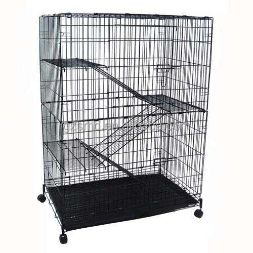 Large Wire Mesh Pet Cat Cage