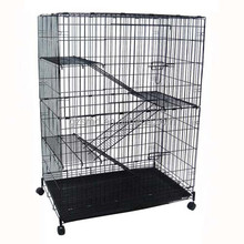 Luxury Large Wire Mesh Pet Cat Cage