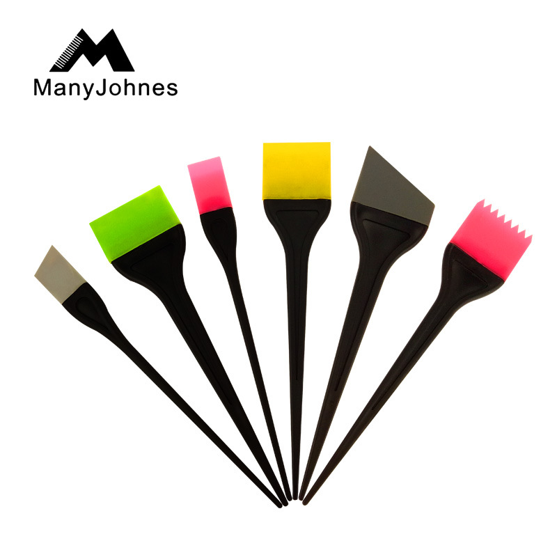 Professional silicone hair brush, hair brush tool