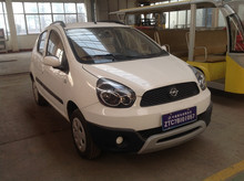 small solar smart cheap SUV 4 seat electric car