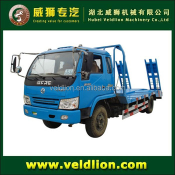 3 tons platform recovery truck,car carrier