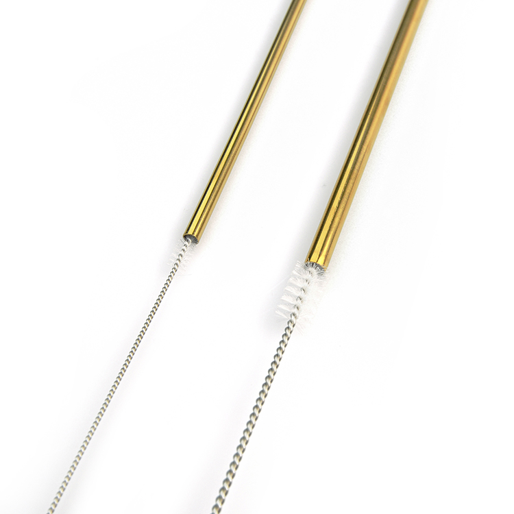 Eco-friendly excellent quality metal cocktail straws new style stainless steel drinking straw