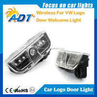 hot selling wireless car led logo laser door light led marker light welcome light for Porsche for VW