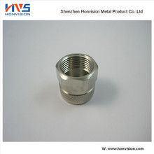 High quality OEM serve aluminum stainless steel brass plastic CNC machining lathe parts