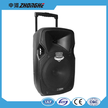 LS-12B 12 inch Portable Trolley Battery Speaker with Wheels