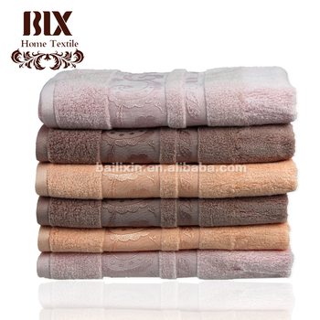 direct buy china custom bamboo charcoal hand towel with cheap price