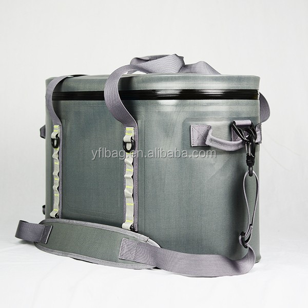 High quality 840D TPU waterproof soft sided ice insulated cooler bag