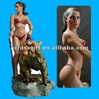 Sexy resin fantasy figures