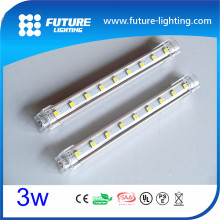 Indoor use aluminum profile short length 20Cm Epistar 5050 smd led strip light ,led rigid bar ,led rigid strip