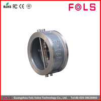 Stainless Steel wafer 2 way check valve