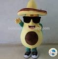 HOLA avocado mascot costume/ fruits fancy dress costumes for sale