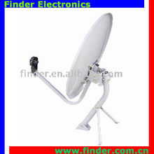 Ku band Satellite Dish Antenna-pole stand with support
