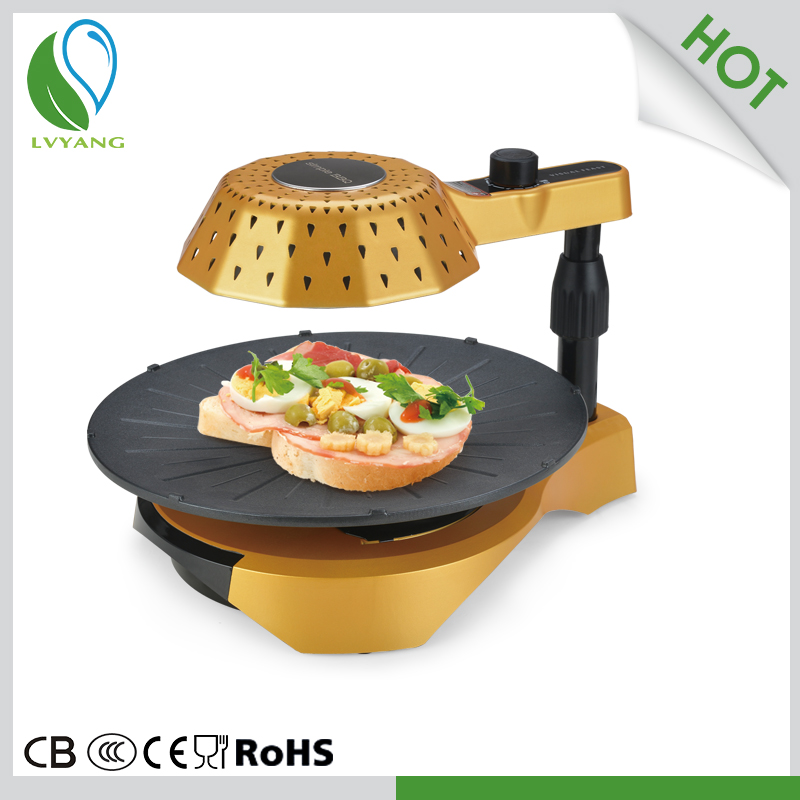 3D infrared bbq pizza oven