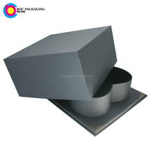 LOW MOQ NO MINIMUM valentine's day Lid and tray square lid heart shape flower box