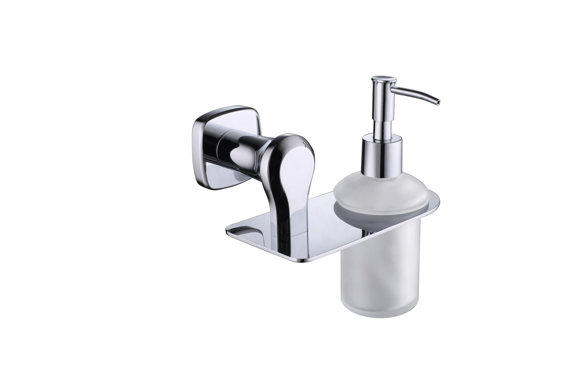 Shower wall mount hand liquid soap dispenser laundry single refillable manual liquid soap dispenser