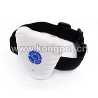 Bark stop collar/waterproof good quality dog anti bark collar /Ultrasonic and Audible Selections collar/ OS012