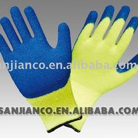 Latex Coated Cotton Glove With Interlock