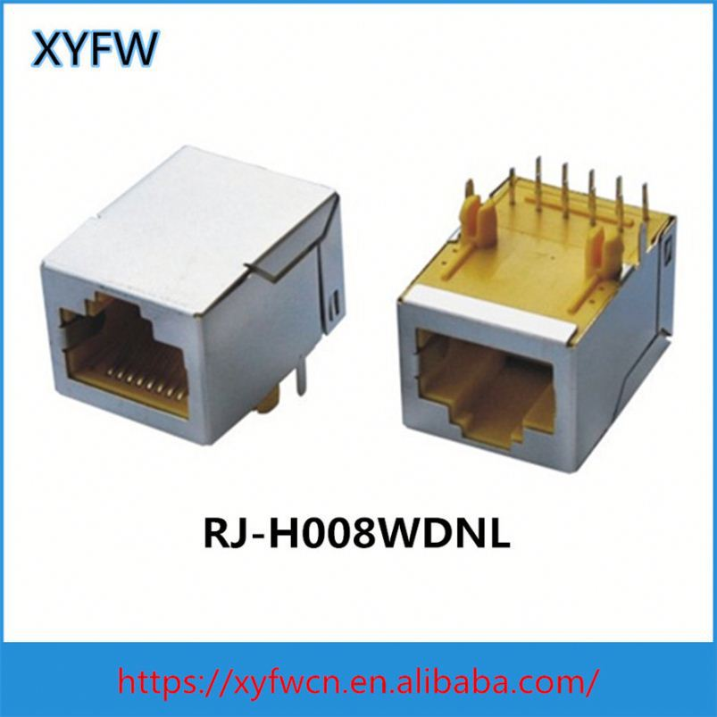 Rj45 With Integrated Magnetic 0811-1Xx1-03 0811-1X1t-12 0813-X11t-23