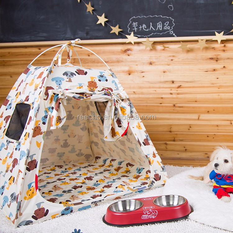 New Design Pet Houses Folding Outdoor Pet Dog Bed Tents