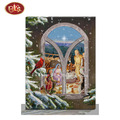 Canvas Painting with Scene of Jesus's  Birth for Home Decoration