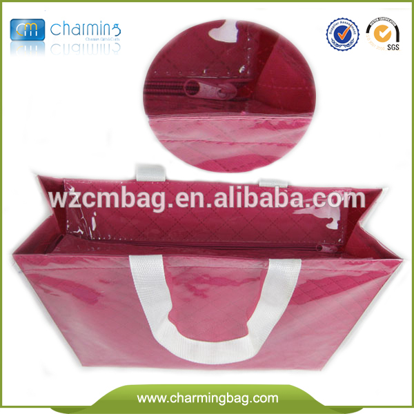 Fashion cheap simple shopping bag in bag handbag fashion 2015