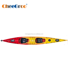 two person two seat sea kayak made of LLDPE with good price and high quality