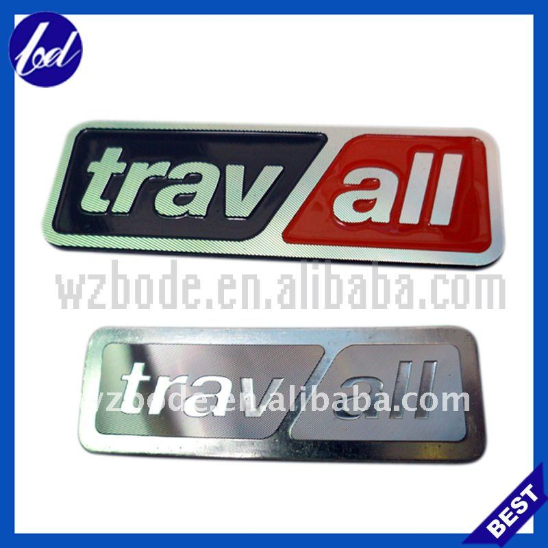 Travall enamel with pins metal car badge