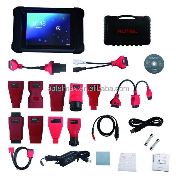2016 New Arrival Autel MaxiSys MS906 Automotive Diagnostic System Full Package MS906 Powerful than MaxiDAS DS708 Update